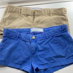 Abercrombie and Fitch short bundle